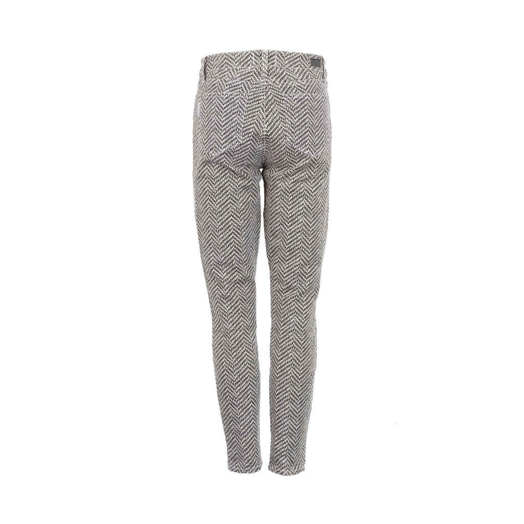 Paige Hoxton Printed Ankle Jeans