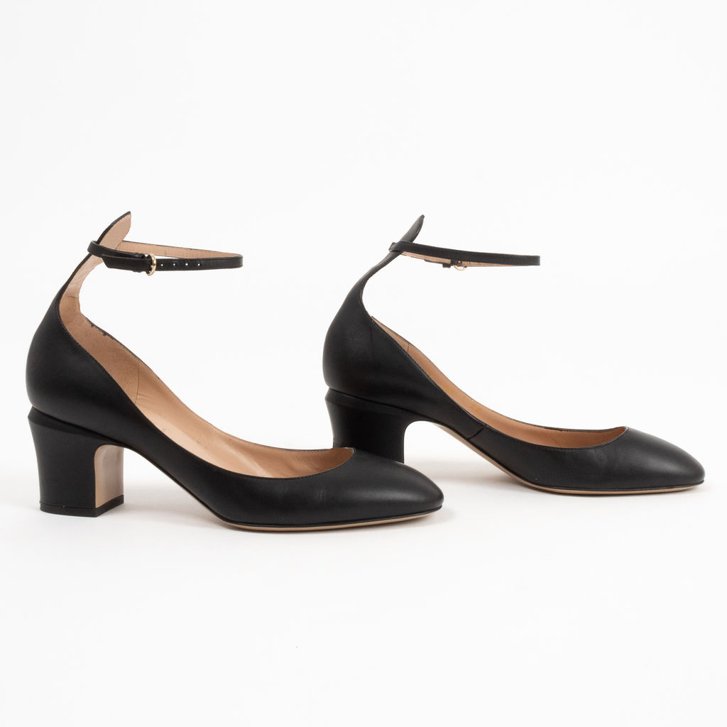 Valentino Mary Jane Pumps with Ankle