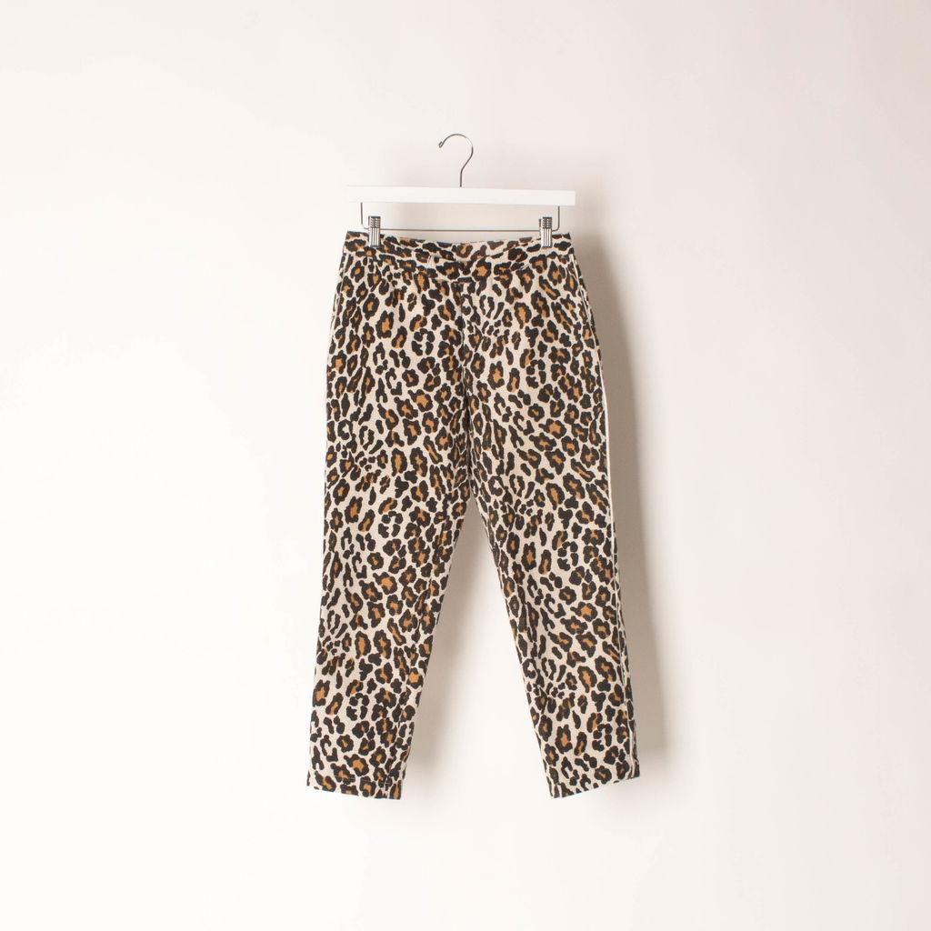 SEA Leopard Print Trousers