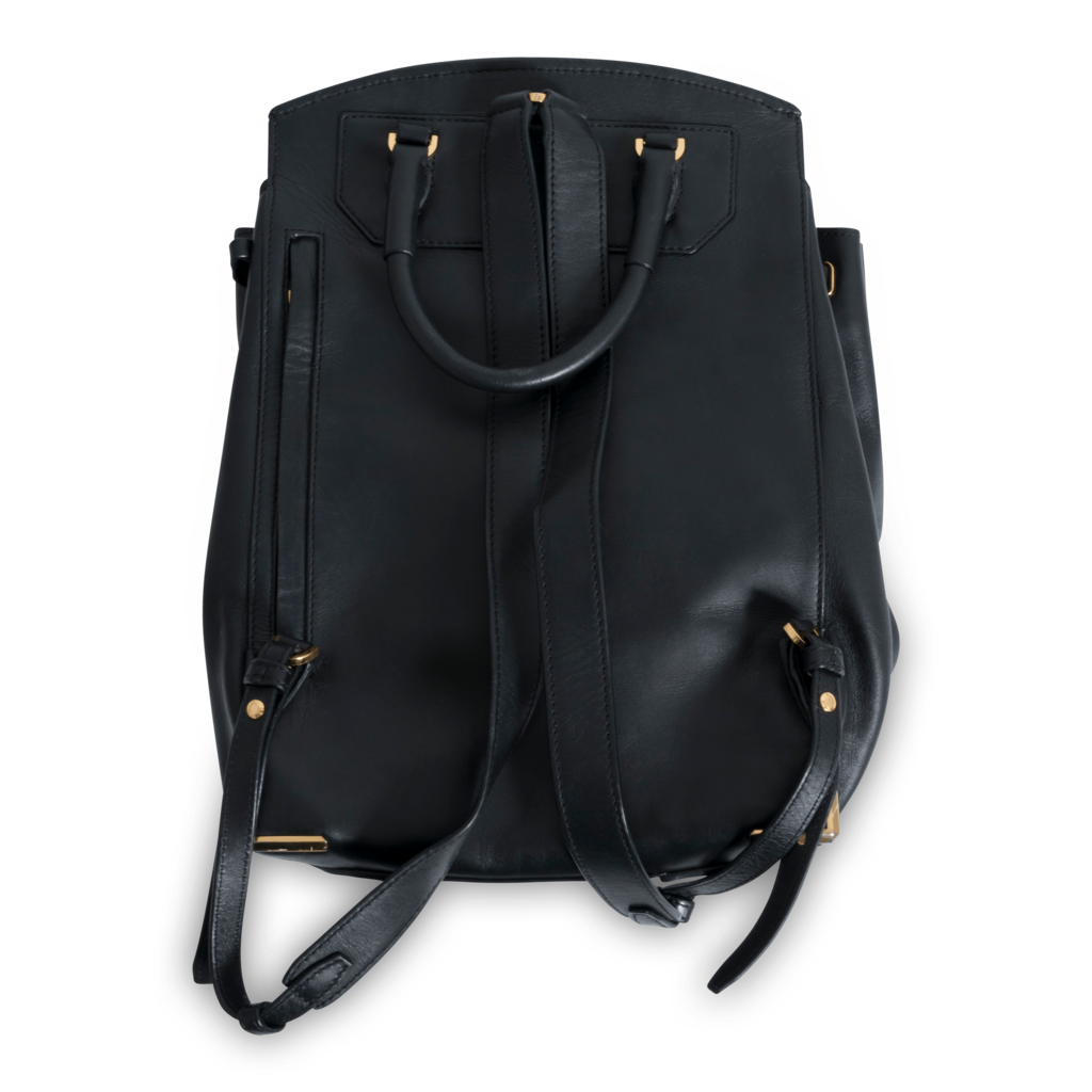 Alexander Wang Black Prisma Skeletal Backpack