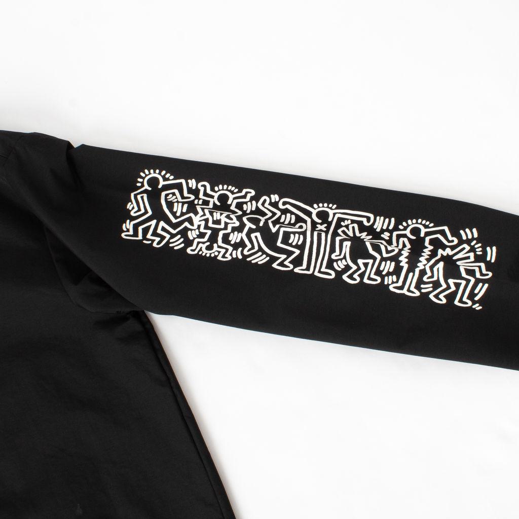 Keith Haring x Ships Jet Blue Coaches Jacket