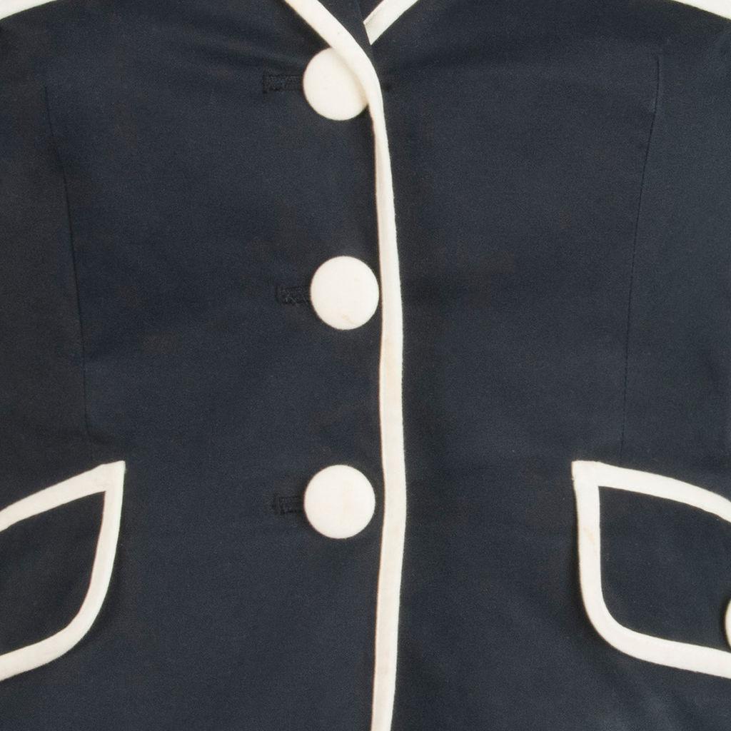 Moschino Black and White Blazer