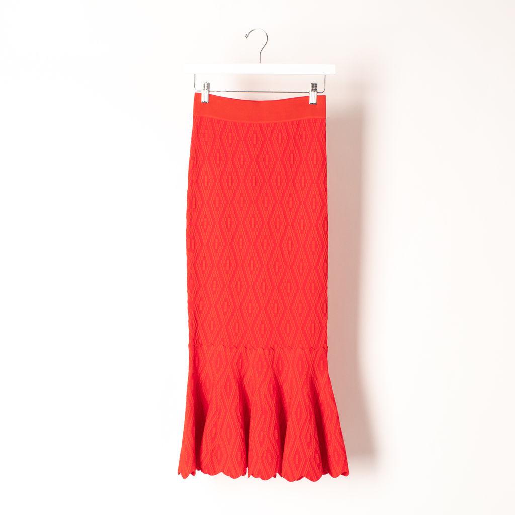 Jonathan Simkhai Textured Skirt
