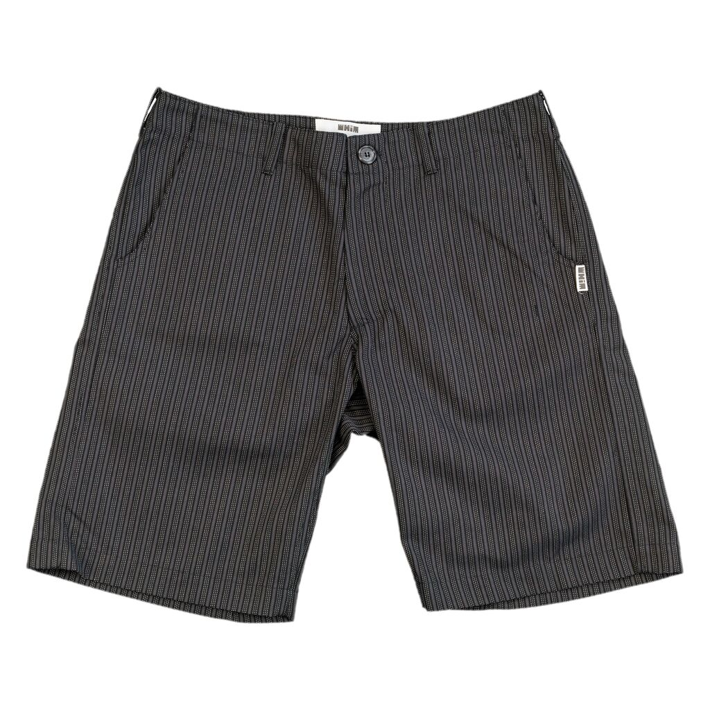 Golf Shorts - Black Stripe