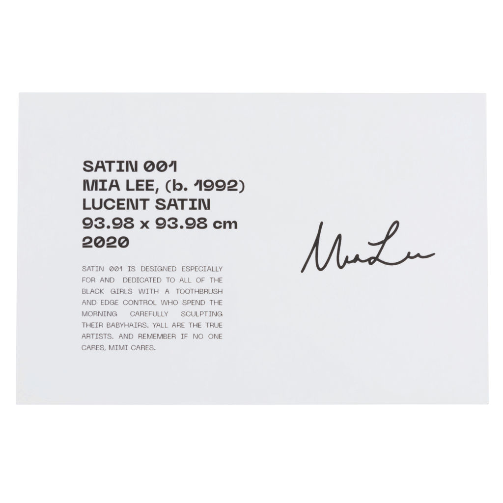 Satin 003 By Mia Lee