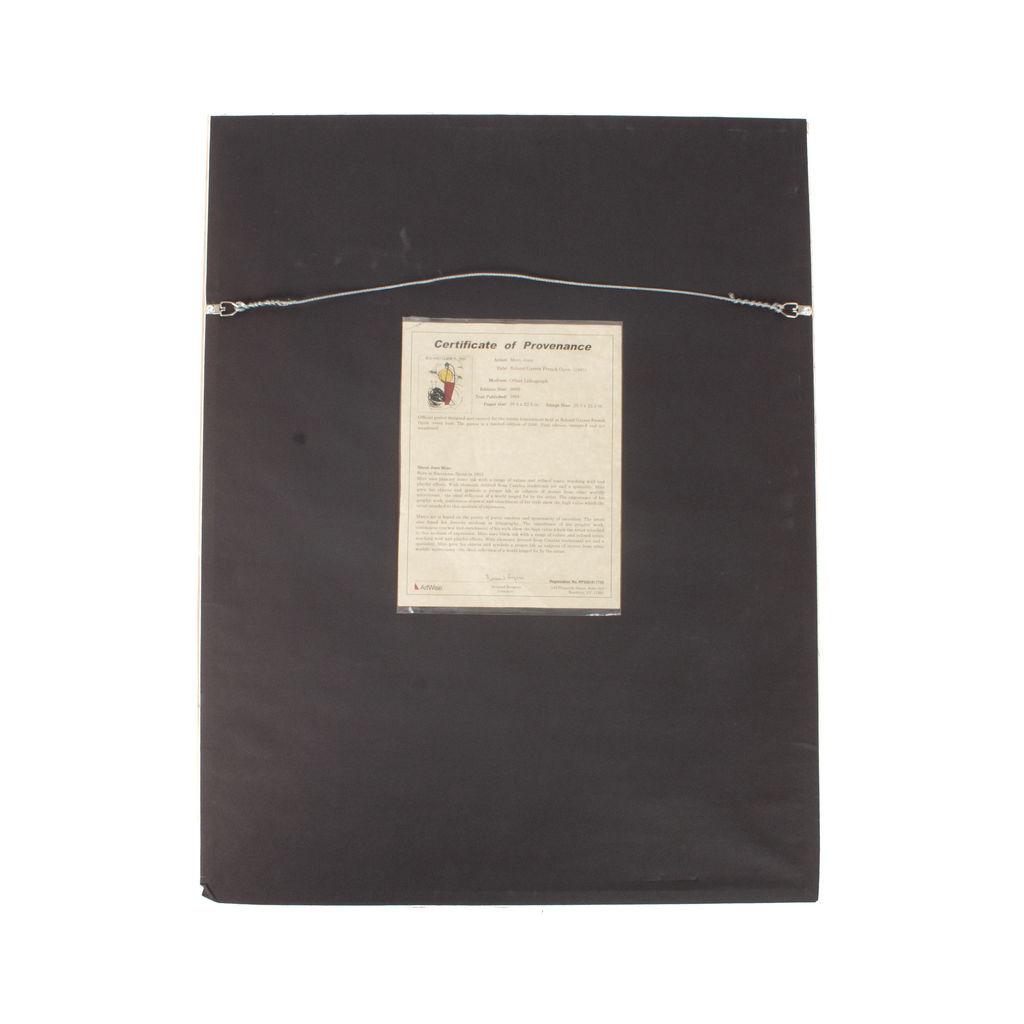 Roland Garros by Joan Miro