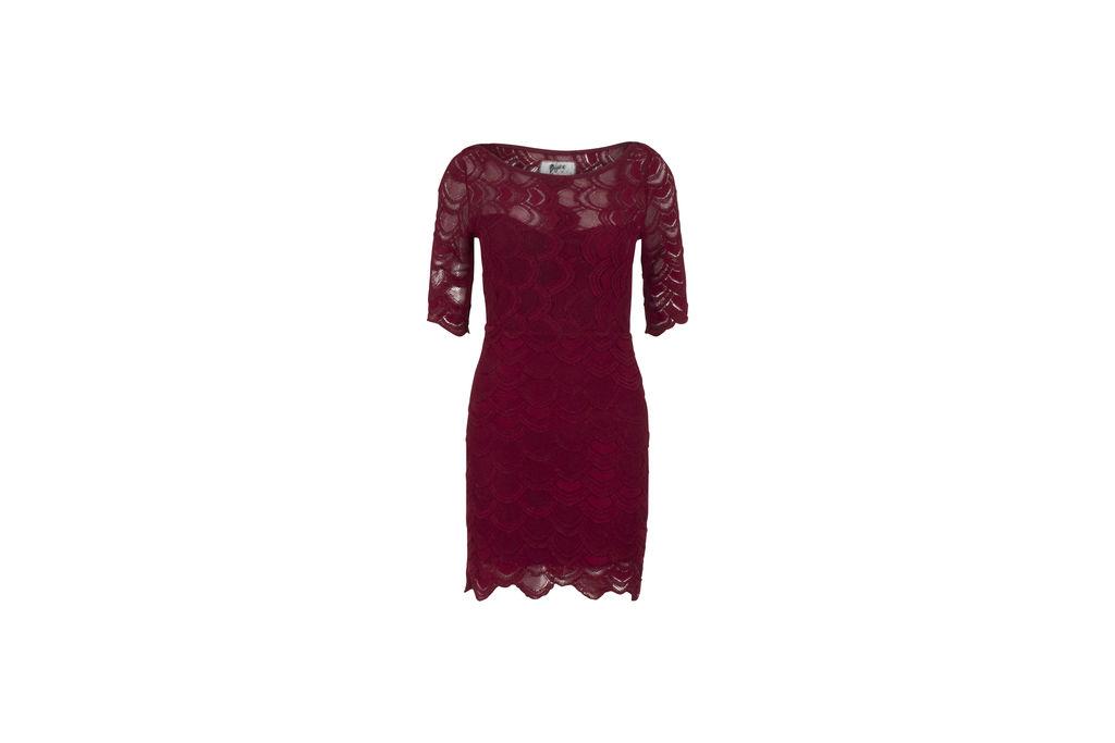 Nightcap X Carisa Rene Crimson Cocktail Dress