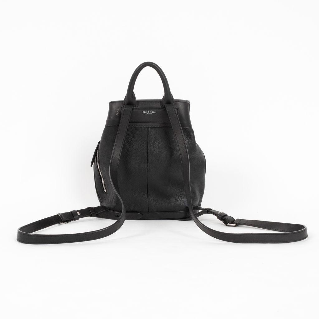 Rag & Bone Pilot Mini Leather Backpack