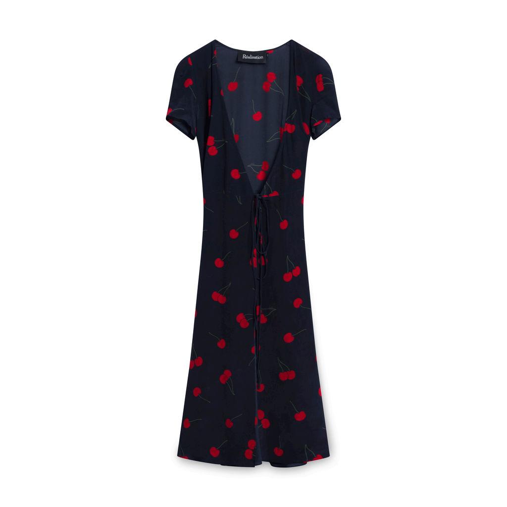 Realisation Par Teale Dress in Wild Cherry