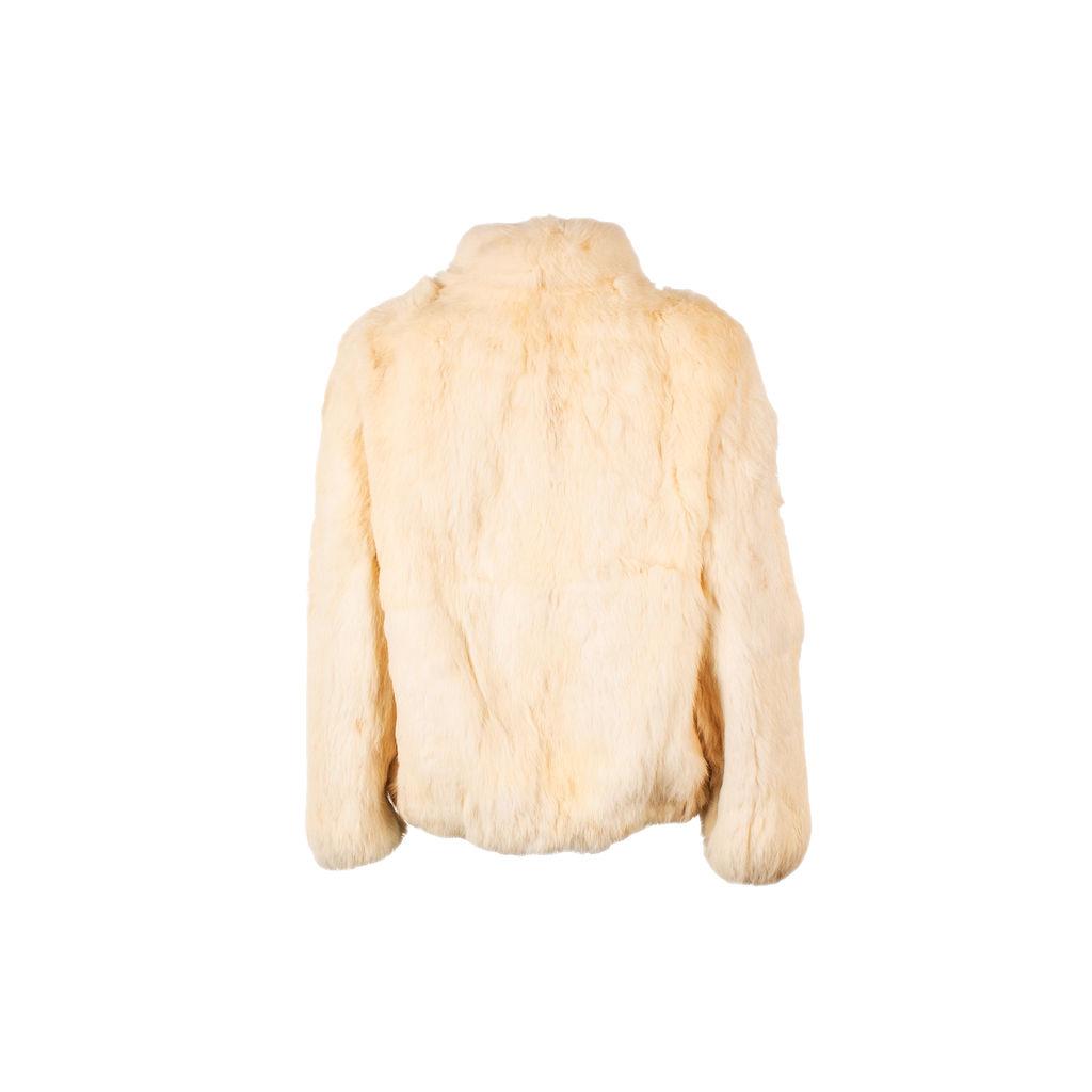 Vintage Cream Colored Fur Coat