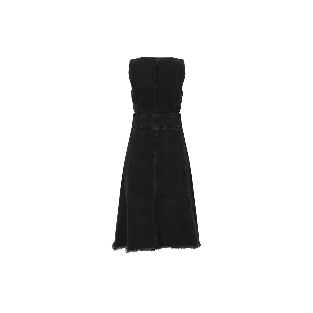 Rachel Comey Black Mesita Denim Dress
