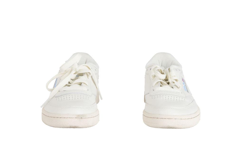 Reebok Club C 85 Sneaker- Cream/Baby Blue