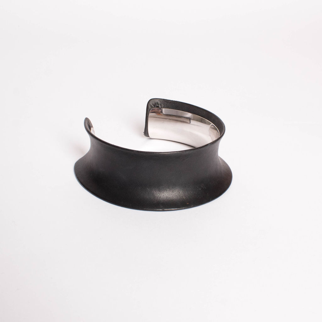 Margiela Leather Sculptural Choker