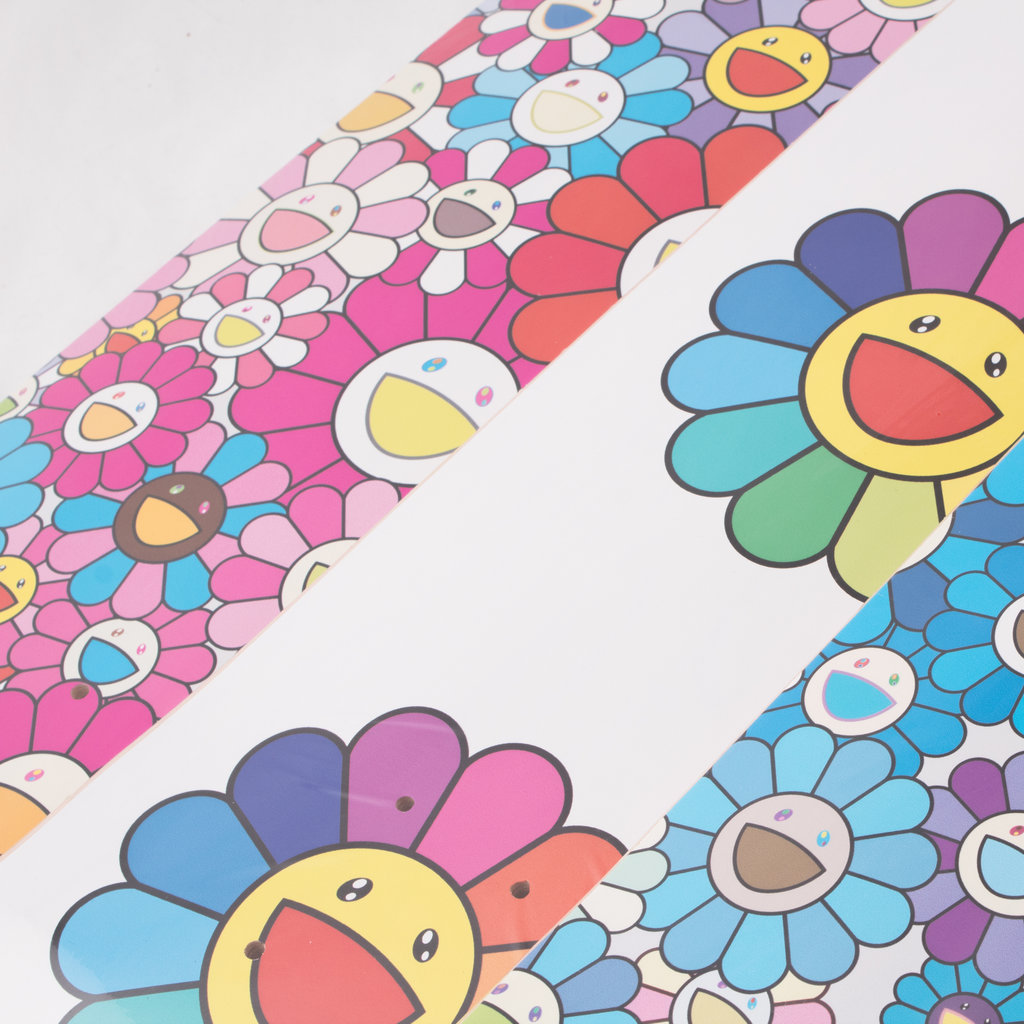 Takashi Murakami x ComplexCon Skate Deck Set-Multi Flower