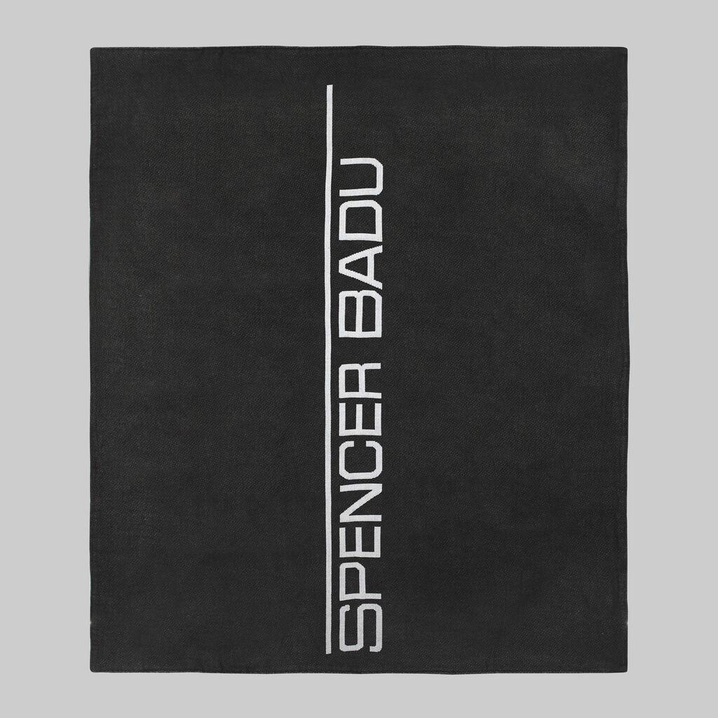 Black BPM Woven Blanket