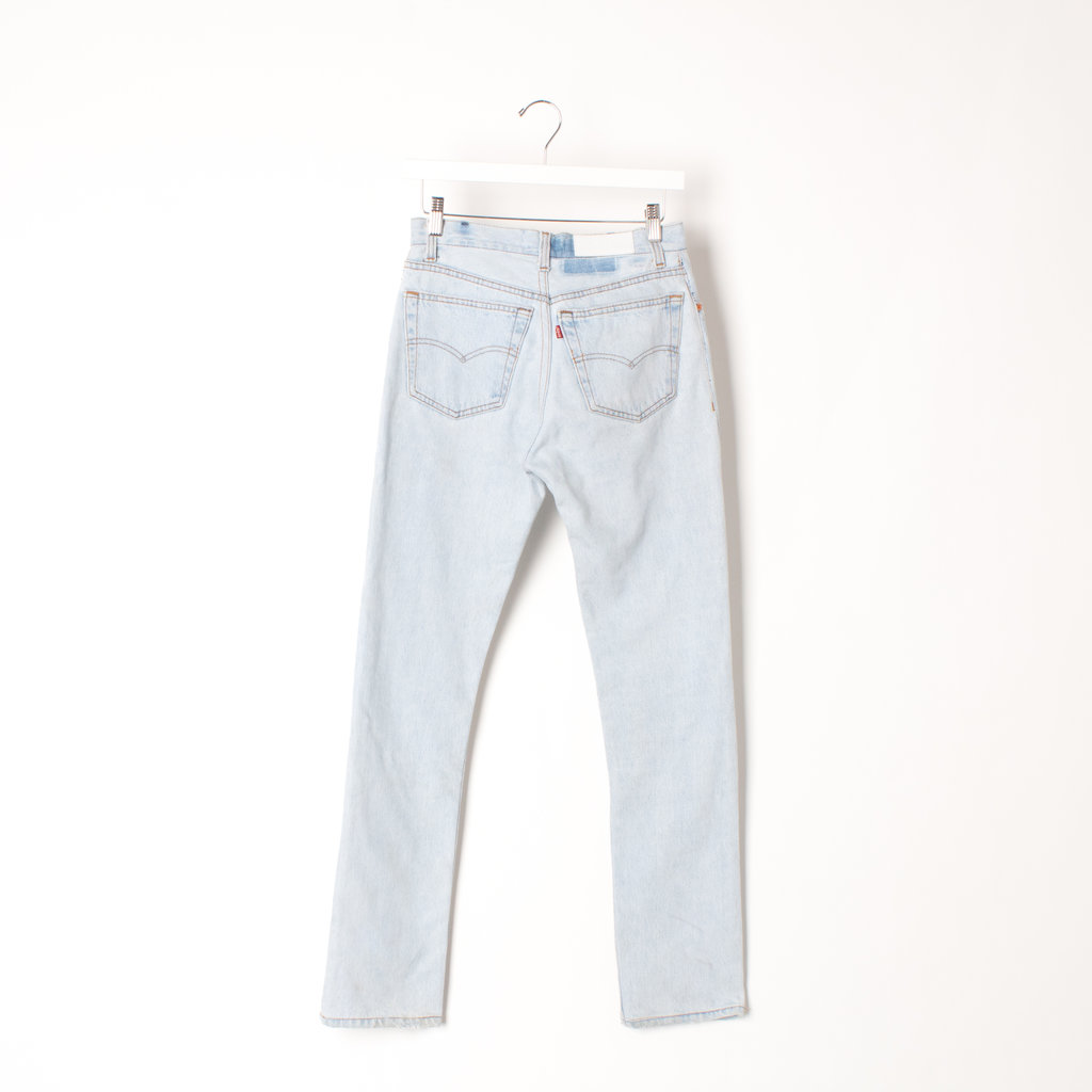 RE/DONE Levi's Light Wash Jean