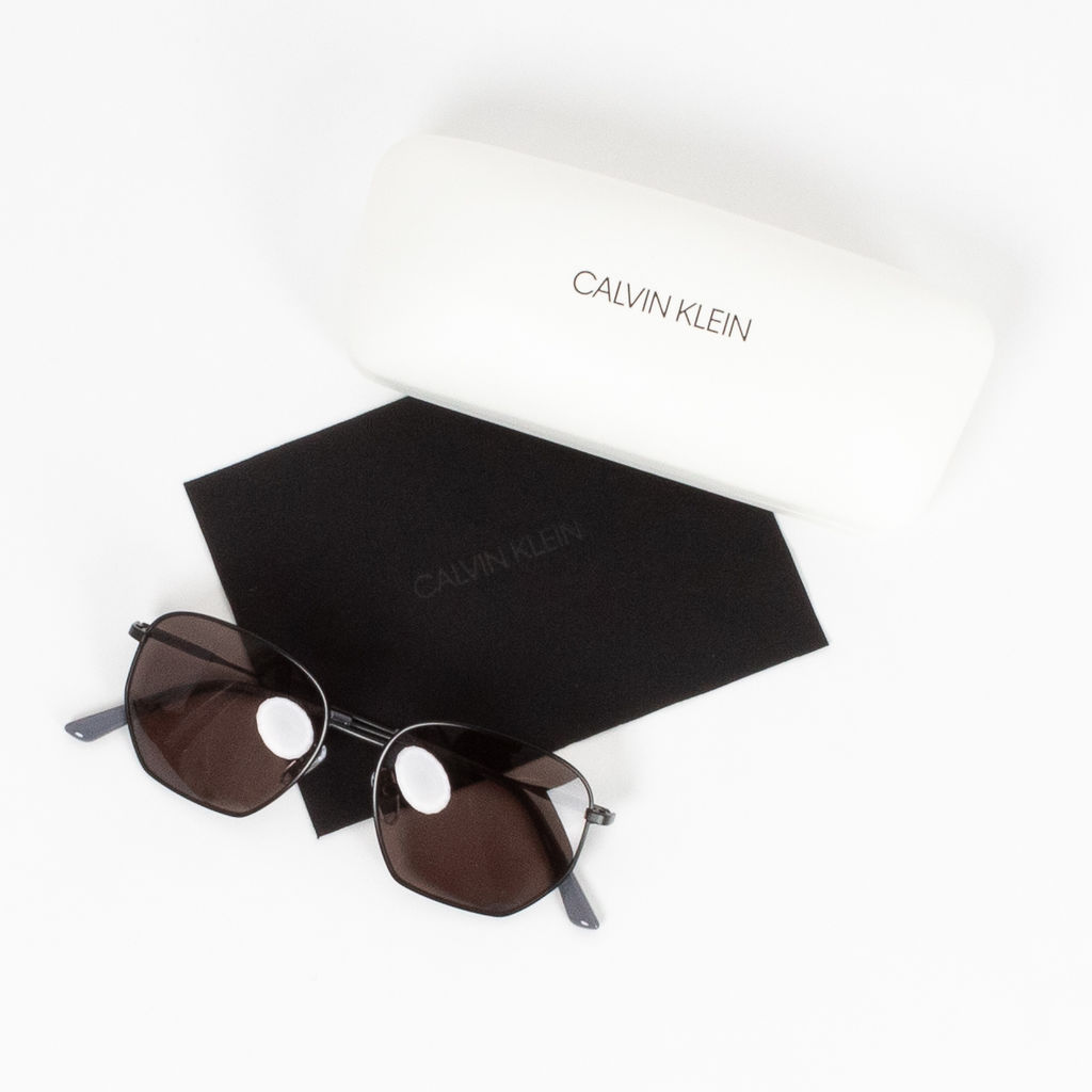 Calvin Klein Rounded Top Sunglasses