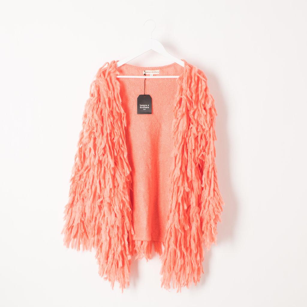 Lovers & Drifters Wool Fringe Shawl