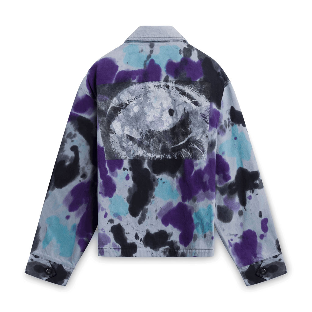 Babylon LA Tie-Dye Eye Jacket