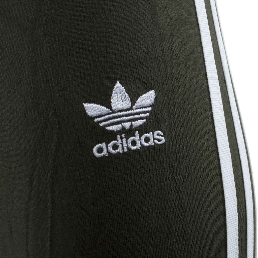Adidas 3 Stripe Olive Legging