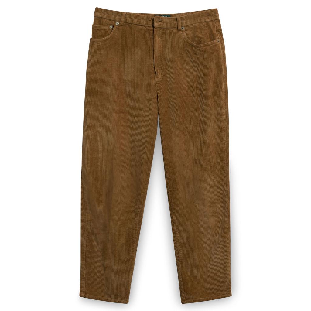 Vintage Lauren Ralph Lauren Petite Brown Corduroy Pants