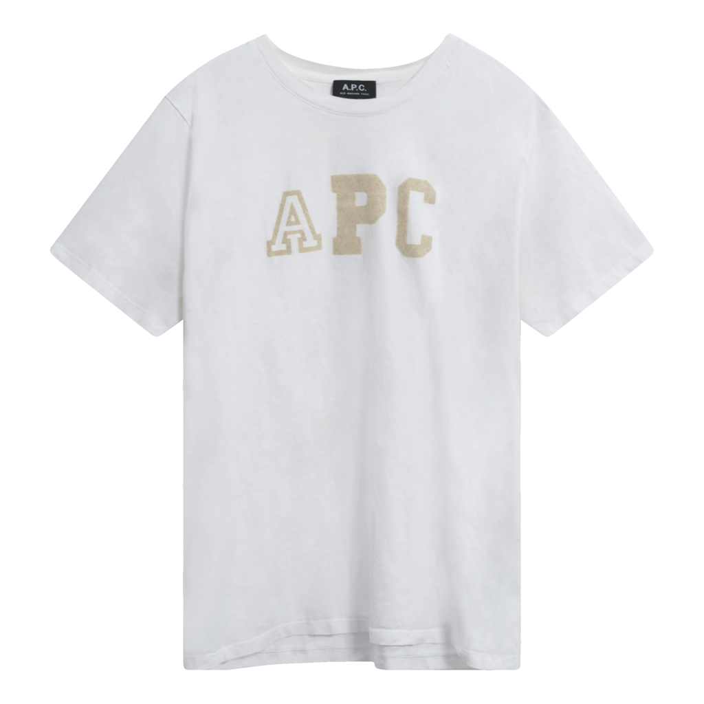 APC Embroidered Letterman T-Shirt