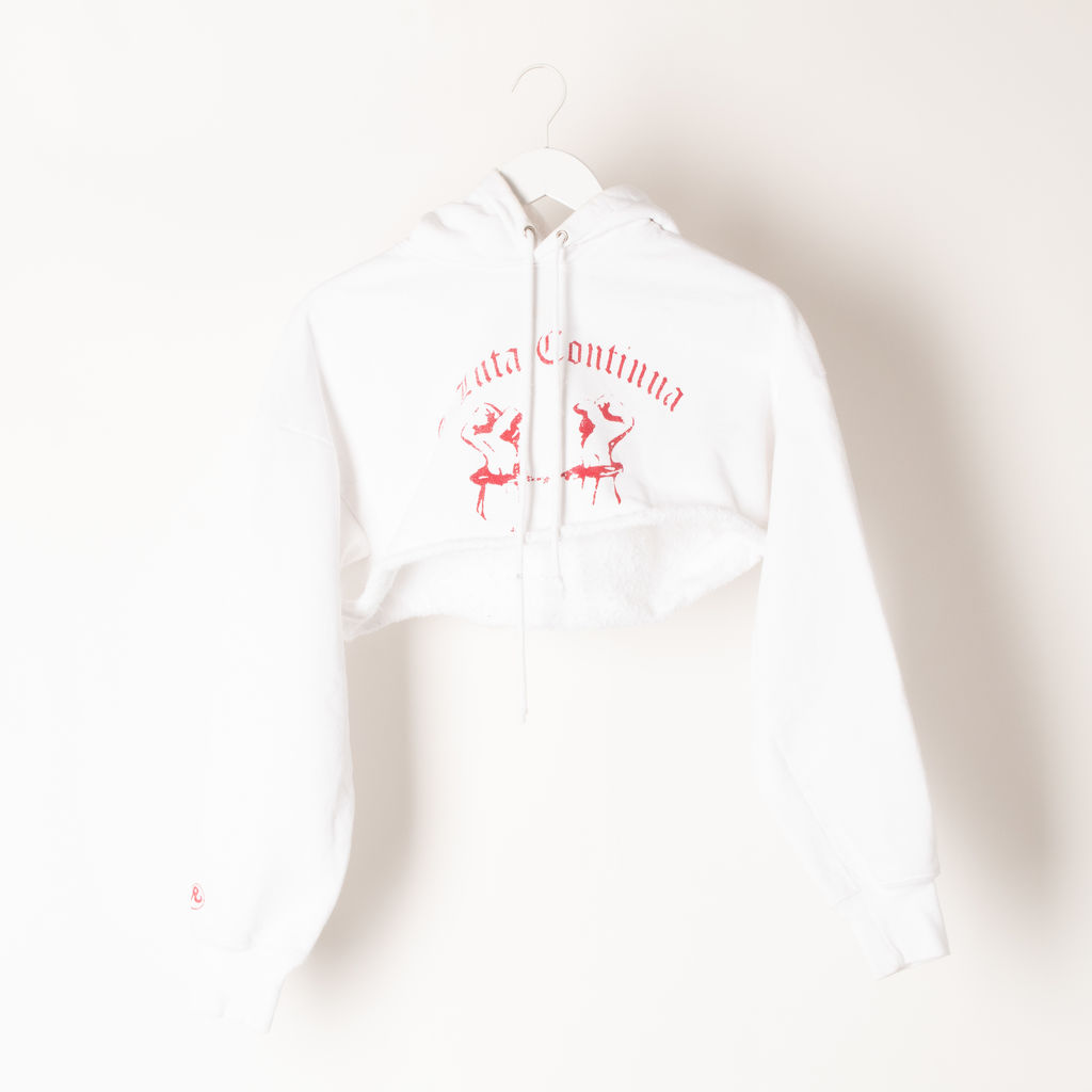 Richardson Cropped Chained Hands Hoodie