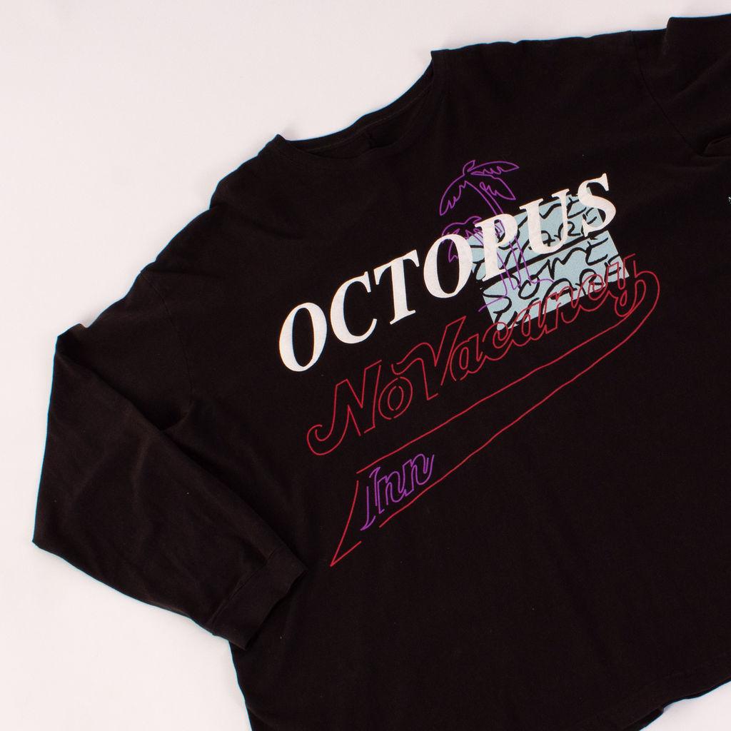 No Vacancy Inn Octopus Long Sleeve Tee