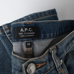 APC New Standard Faded Indigo curated by Love Watts