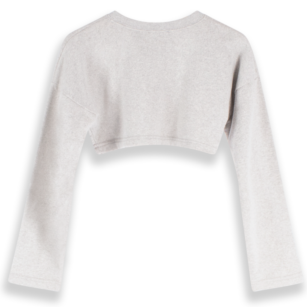 Fiorucci Cropped Sweatshirt