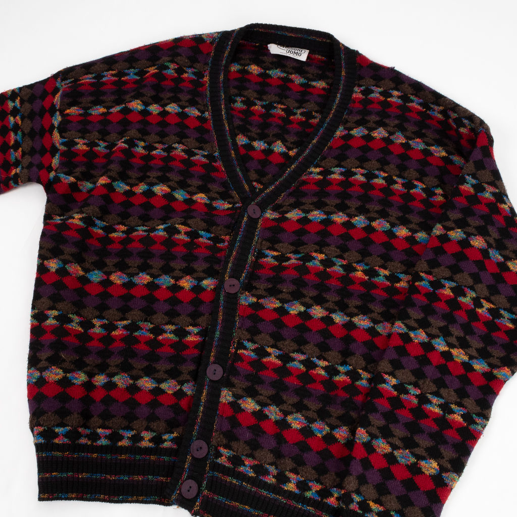 Missoni Uomo Geometric Knit Cardigan