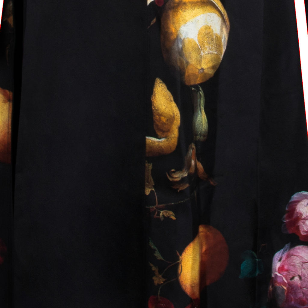 Céline Crepe Silk Trapeze Dress