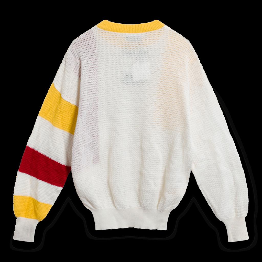 Vintage Enrico Coveri 80s Color Block Pullover