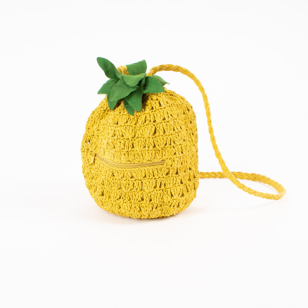 Vintage Crocheted Pineapple Purse