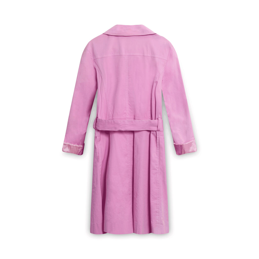 Anna Sui Pastel Pink Coat