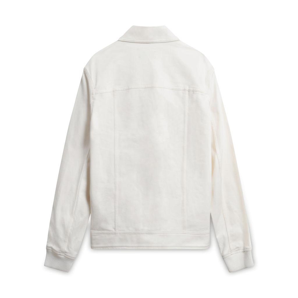 A.P.C Louis W Denim Jacket- White