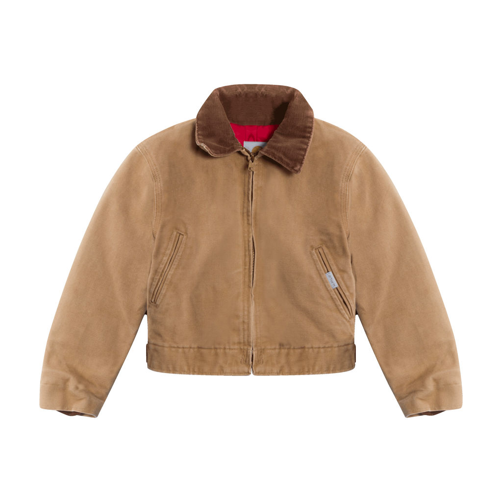 Carhartt Brown Canvas Jacket