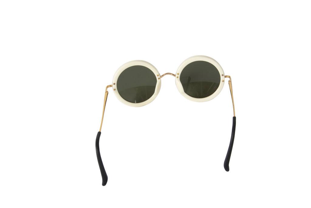 The Row 8 C5 Round Sunglasses