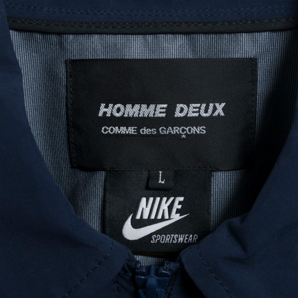 Nike x Comme des Garçons Homme Deux Coach Big Swoosh Jacket