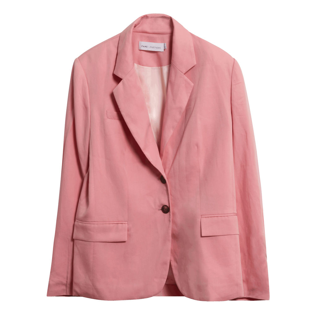 Fame and Partners Pink Blazer