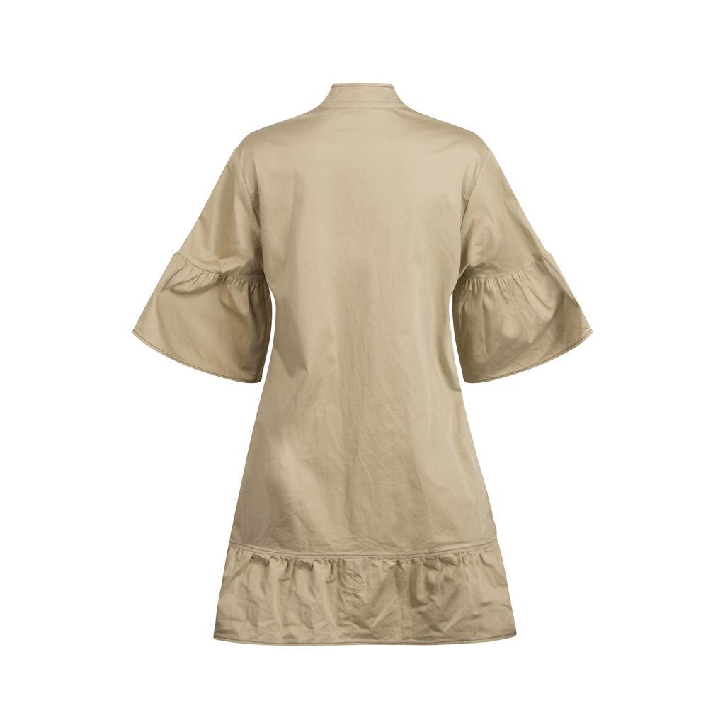 ALEXIS Mariano Cotton-Blend Mini Dress