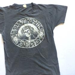 Vintage 1981 Grateful Dead Berkley Greek Theatre Tour Tee Shirt  curated by Scott Hopkins
