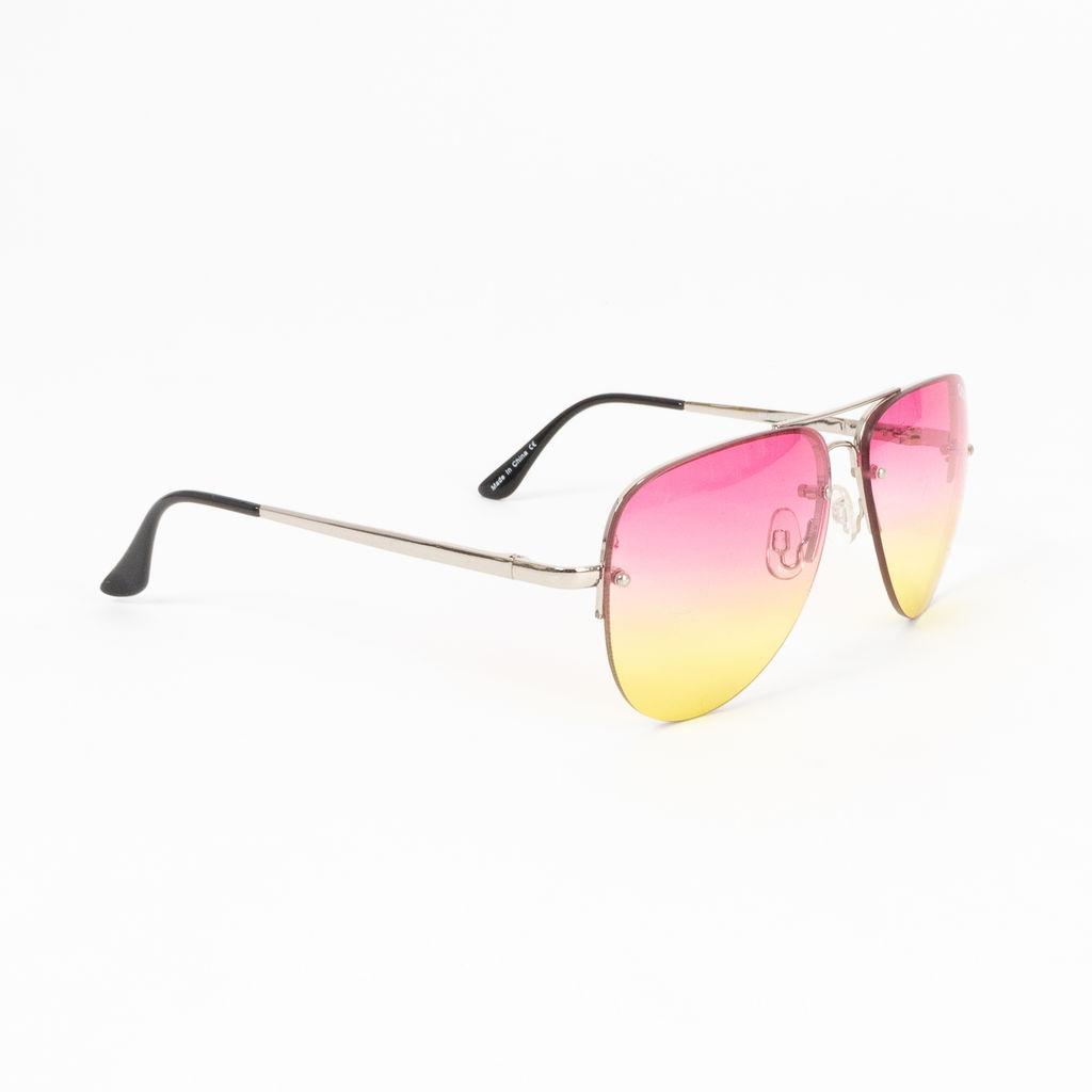 Quay Australia Muse Fade Aviator Sunglasses