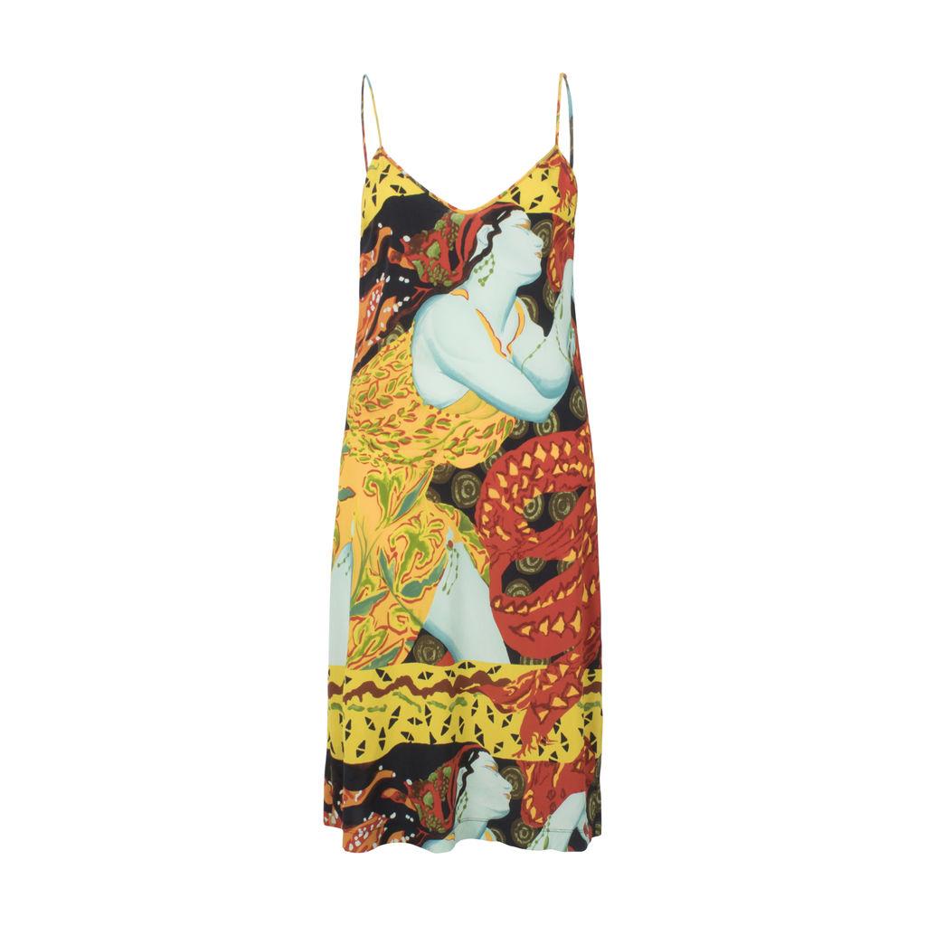 Vintage Jean Paul Gaultier Silk Slip Dress
