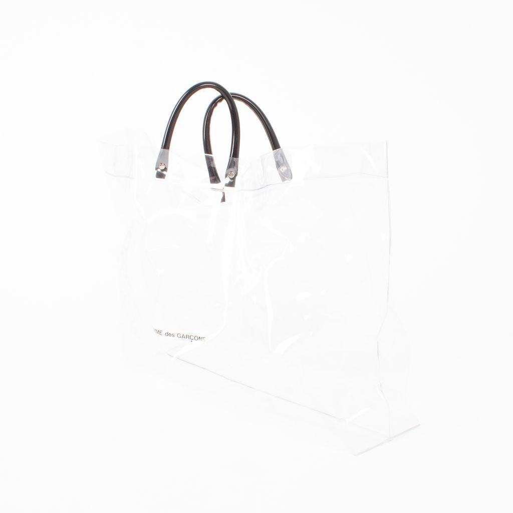 Comme Des Garcons Oversized PVC Bag