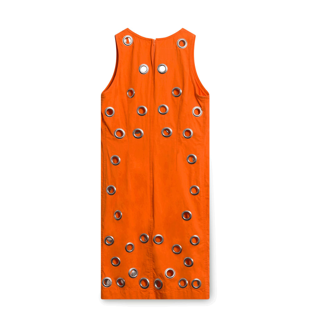 Ferretti Orange Ring Dress