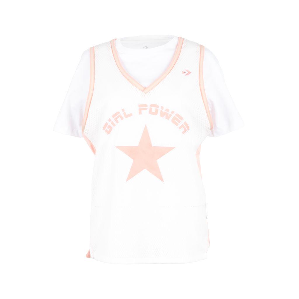 Converse x Feng Chen Wang Jersey Overlay T-Shirt