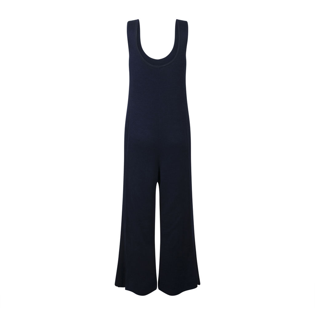 Kordal New York -Knit Navy Jumpsuit