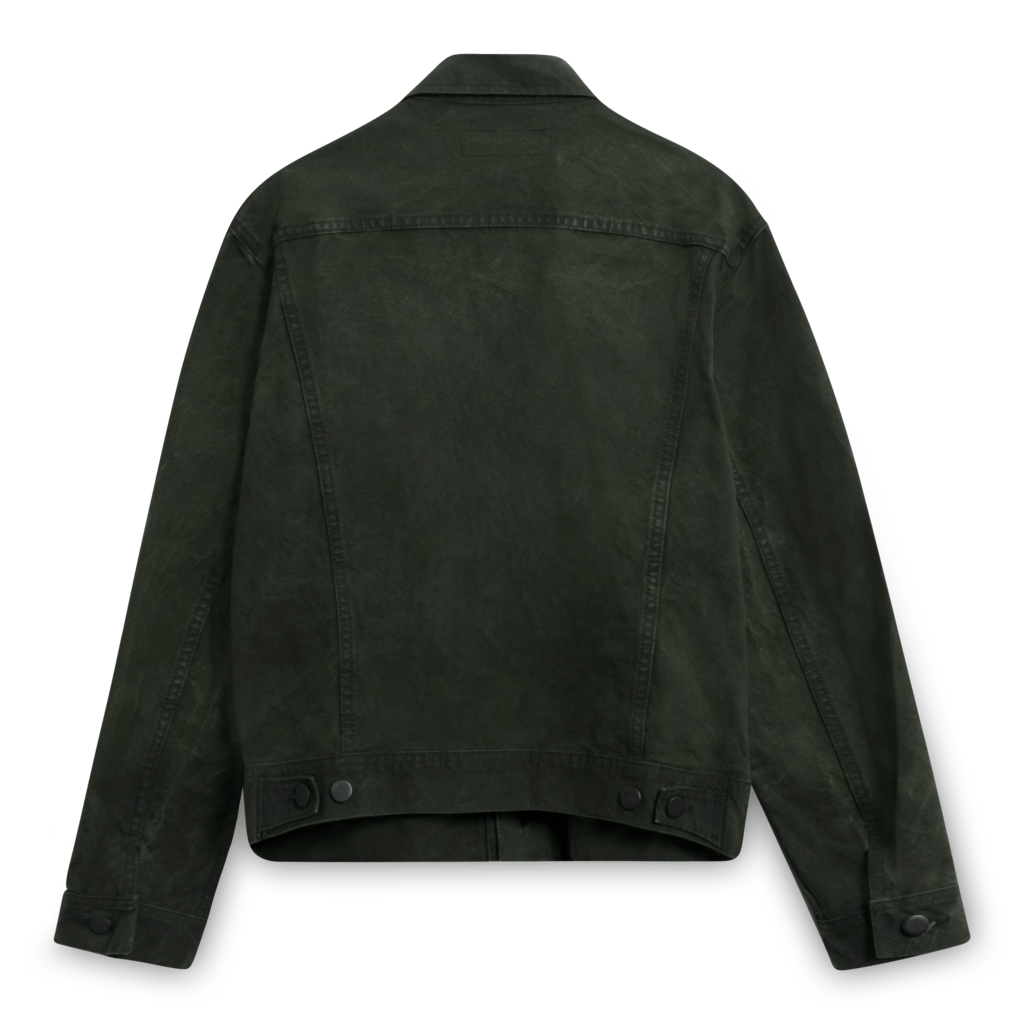 Ralph Lauren Green Denim Jacket