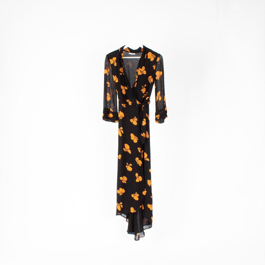8c5fdd576e9 Ganni Fairfax Georgette Maxi Dress